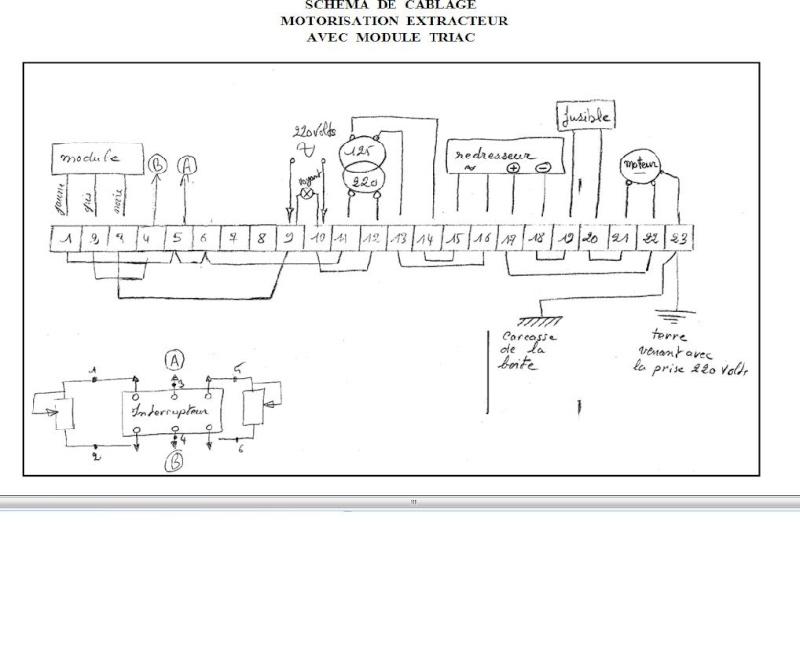 Variateur de vitesse pour moteur universel et petit moteur à courant continu Schama14
