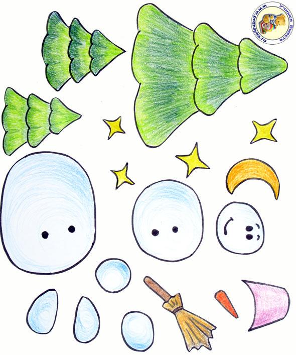 Костюм Снеговик из бумаги к новому году