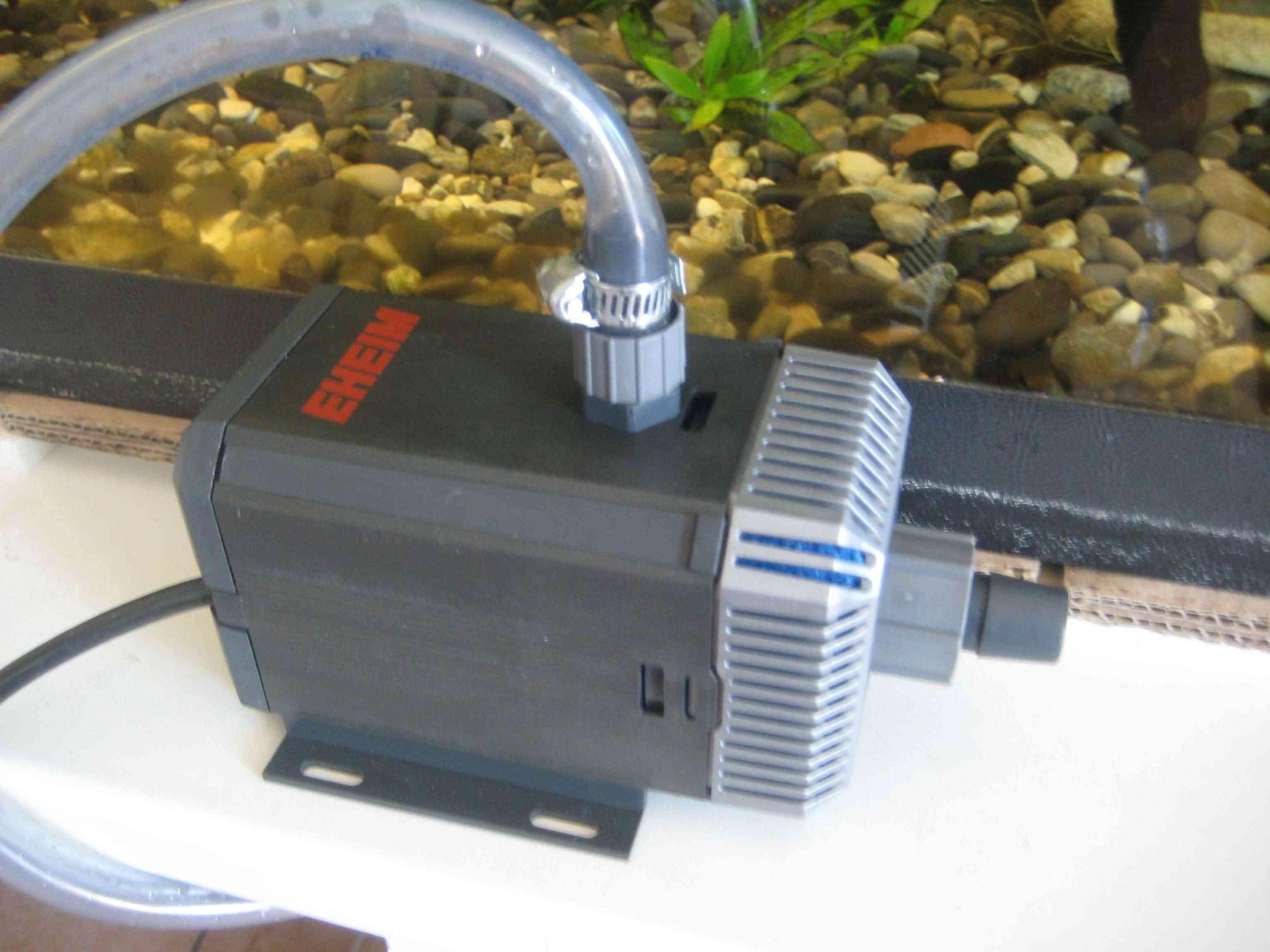 Fabrication d'une pompe de filtration Aqpo_010