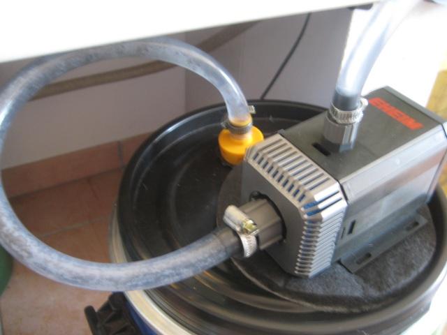 Fabrication d'une pompe de filtration Aqpo_016