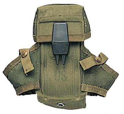 Подсумок для двух рожков M-16 + 2 гранаты, под ALICE, ВС США, ОРИГИНАЛ.  Контактное лицо.