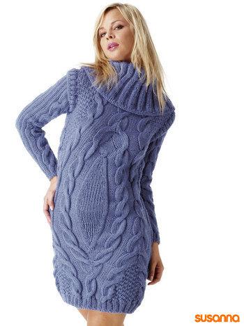 вязаные платья малышам схемы