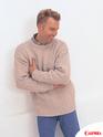 вязание спицами скандинавские мотивы мужской пуловер.