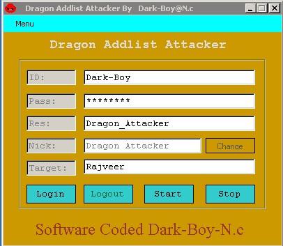 Dragon Addlist Attacker Scren11