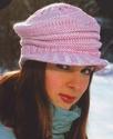 Комментарий: вязаные шапки красивая вязаная кепка.