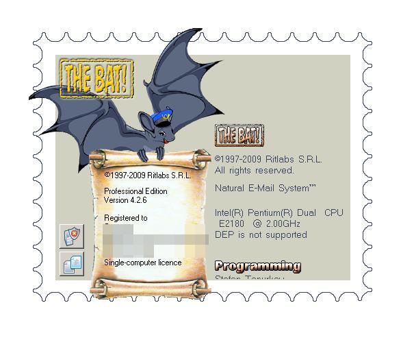 حصريا عملاق البريد الإلكتروني The Bat!