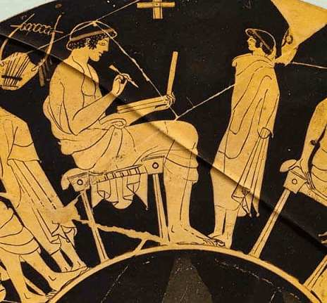 Обучение и воспитание в Древней Греции.
