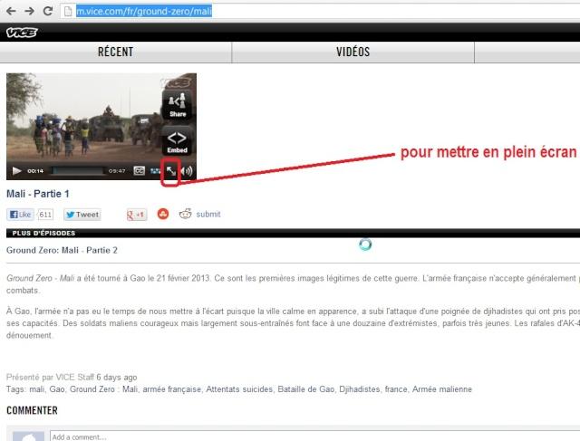 Des images fortes et non censurées des combats urbains au Mali Shot1011