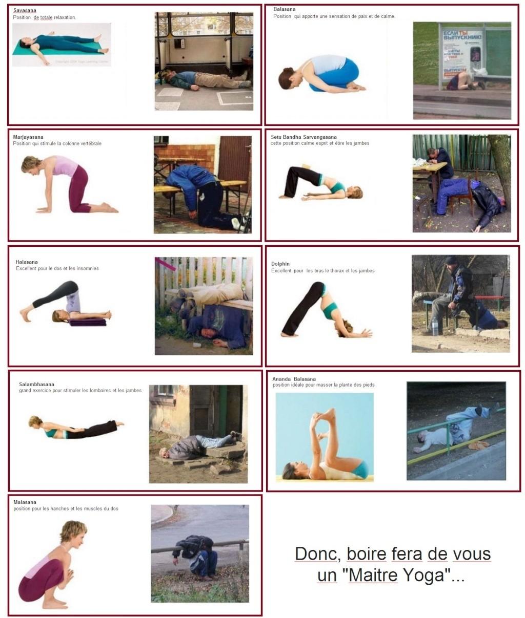Le YOGA Russe (appelé aussi Yoga low cost) Yoga110