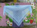простейшие шали крючком схемы - Выкройки одежды для детей и взрослых.